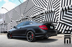 Exclusive Motoring Mercedes C63 AMG (Raymond N) Tags: mercedes florida miami wheels exotic neice raymond custom luxury exclusive motoring forgiato