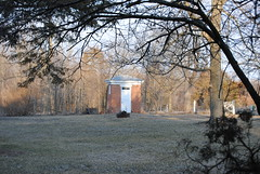 The fanciest one yet, when nature calls (David Sebben) Tags: loo illinois fancy mansion outhouse italianate privy newboston naturescall