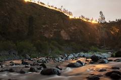 Rio Chiche 1 (Rebecaz) Tags: verde rio luces noche agua rbol piedra caon riochiche