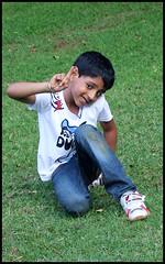 Vedu soaks up the applause (Nagarjun) Tags: bangalore ruchi kaushal vedant anindita ipsita malathi sowmya murli casaansal