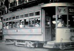 """""""Havana Electric Railways Co"""" Ruta V-6, Vedado-Jesus del Monte, No. 521 (ROGALI) Tags: havana cuba streetcar habana tranvia belascoain havanaelectricrailwaysco rutav6 vedadojesusdelmonte"""
