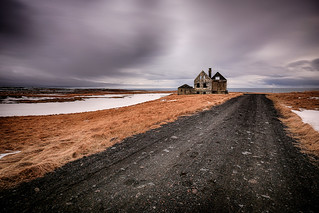 Abandoned House In West Iceland