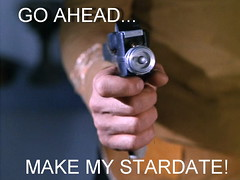 You have to ask yourself... (seeviewer) Tags: trek star gun satire humor phaser stun