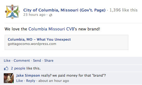 City of Columbia, Missouri (Gov't. Page)'s Facebook