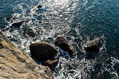 Ailladie (TomFahy.com) Tags: ireland sea cliff rock landscape climb clare boulder climbing limestone burren karst galwaybay sonydscr1 ailladie jobie2014