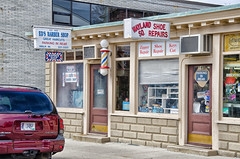 Neighborhood Shops (PAJ880) Tags: ri shop shoe east providence repair barber wayland eds sq