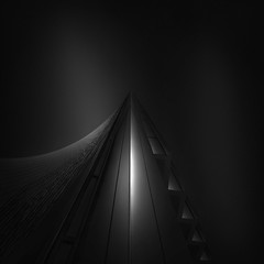 ode to black III - extreme black (Julia-Anna Gospodarou) Tags: bw abstract architecture fineart normanfoster contrasts modernarchitecture hoya willisbuilding architecturalphotography blacksky londonarchitecture nd8 bw110 manfrotto055xprob extremeblack nikond7000 nikon1024mm blackandwhitefineartphotography odetoblack siruik20x fineartarchitecturalphotographyjuliaannagospodarou