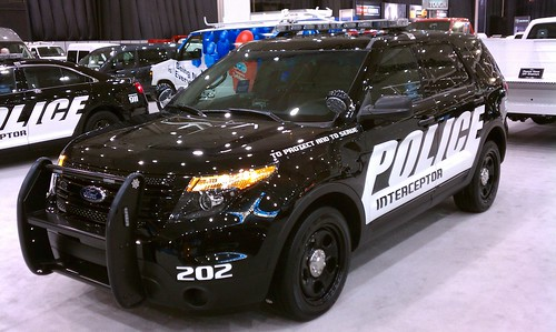 2012 Ford Police Interceptor SUV