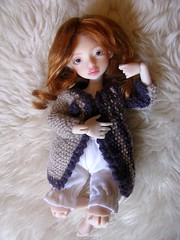 Shiloh (Rainbowx Dash) Tags: doll sophie makeup bjd dust dod octobre khol dustofdoll