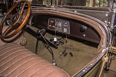 san diego cars 28 franklin interior 041313-3321 (sandiegoimages) Tags: california park wild cars car museum photography franklin unitedstates sandiego gene deer winery photographs 1928 12a sandiegoimages