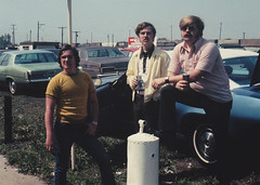 Dad, Uncle Mike, and Uncle Ed (1973) ( Daniel Rehn) Tags: family chicago cubs 1970s 1973 galesburg mikewhite hughwhite rehn brycerehn