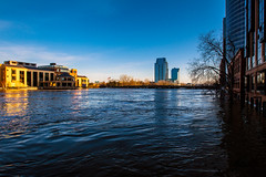 GRAND RAPIDS FLOOD 2013-1455 (RichardDemingPhotography) Tags: flooding flood michigan grandrapids grandriver grandrapidsmichigan floodwater westmichigan downtowngrandrapids puremichigan flood2013 michiganflooding grandrapidsflood