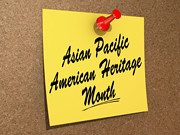 Asian Pacific American Heritage Month (One Way Stock) Tags: heritage asian calendar pacific culture american tradition custom month ancestry