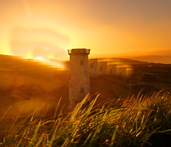 lighthouse sunset (museque) Tags: beautiful earth best vigilantphotographersunite