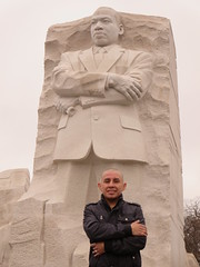 Marco M., visits the Dr. Martin Luther King, Jr. National Memorial in Washington, D.C. USA (RYANISLAND) Tags: usa history america nps dr landmark jr american change civilrights equality blackhistory martinlutherking americanhistory blackhistorymonth drmartinlutherkingjr nationalmemorial yeswecan