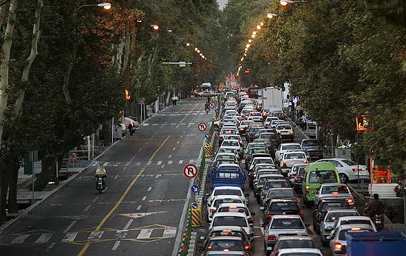 Персия, Иран, Тегеран, улица Вали-Аср