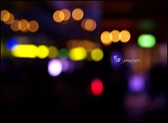 (EBArt) Tags: urban abstract blur streets color colors horizontal night composition lights luces artistic bokeh colores desenfoque contrasts blury 2012 desenfocado luminosity