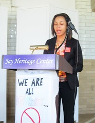 The YWCA GEMS Stand Against Racism (Jay Heritage Center) Tags: white house heritage against stand justice site jay carriage panel social landmark center historic human national rights plains racism hudsonrivervalley ywca paththroughhistory