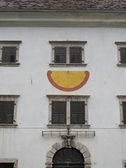 Meridiana a Forni Avoltri. (sangiopanza2000) Tags: italy italia palazzo meridiana friuli sangiopanza forniavoltri