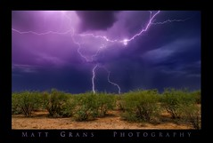 Nearly Struck (Matt Grans Photography) Tags: monsoon arizona lightning lightening clouds weather storm