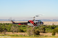 Cal Fire 305 UH-1H Super Huey (KSBD Photo) Tags: cal fire 305 uh1h super huey american heros airshow