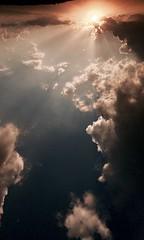 Tramonto (omarpappi) Tags: day raggi sole italy iphone allaperto nuvole cielo colore tramonto