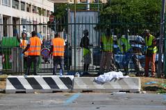 Kennedy7 (Genova citt digitale) Tags: richiedenti asilo genova piazzale kennedy agosto 2016 volontari nigeria lavoro ilva