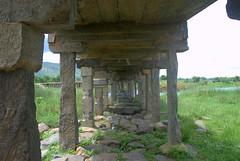 Under the Stone Bridge (VinayakH) Tags: shivanasamudram karnataka india kaveririver river chamarajanagar tankbund