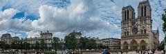 Notre Dame Paris Panorama (dronepicr) Tags: france nikon church allgemein wanderlust holiday sehenswürdigkeit ferien kirche notre dame frankreich paris travel urlaub seine euro trip reisen sight länderstädte geotagged sommerferien notredame îledefrance fr foto photo