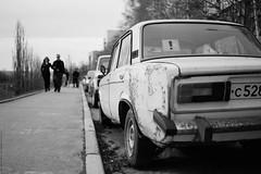 2106 (Anton Zabermach) Tags: nikonfe2 nikkor 50mmf18ai film analog 35mm bw blackandwhite ilford fp4 dof bokeh car selfdeveloped microphen
