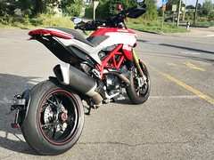 New tail tidy. (Lusty-Daisy) Tags: hypersp hypermotard939sp hypermotard ducati rizoma