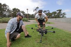 Bird Nest Tracker Deployment (ucsd.e4e) Tags: bird nest eagle ucsd ucsandiego engineering engineersforexploration jacobsschoolofengineering drone copter