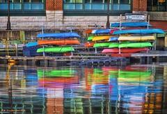 Canton Kayak Club, Fells Point, Baltimore (PhotosToArtByMike) Tags: fellspoint cantonkayakclub baltimore maryland md baltimoreharbor fellspointrecreationpier fellspointnationalhistoricdistrict historicwaterfront waterfrontcommunity storefronts 18thand19thcenturyhomes maritime