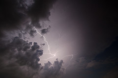 Lighnitng in the Clouds (TheReilDeal) Tags: lightning storm lightningbolt leaguecity texas weather bolt