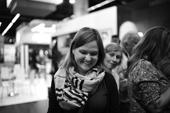 Vanessa (UEiserPhotography) Tags: leica m monochrom summilux 35 14 vanessa cologne photokina 1435 portrait light fantastic smile
