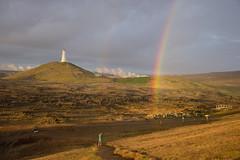 Islandia (CLAUDIA COTA) Tags: islandia iceland rainbow faro lighthouse travelers travel photography landscapes claudiacota