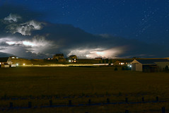Storms_090516B_composite6 (northern_nights) Tags: 100v10f thunderstorms lightning composite groups dusk star startrails cheyenne wyoming