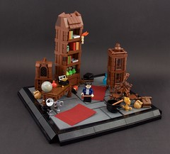 Harry Potter - Room of Requirement (Wookieewarrior) Tags: harry potter lego moc room requirement deathly hallows