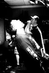 In the moment (kceuppens) Tags: music concert muziek hardcore overlord guitar guitarist zanger bw blackandwhite black white zw zwart wit zwartwit nikond700 nikon d700 2470 nikkor2470218