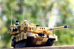 """There is still hope..."" (ABS Defence Systems) Tags: lego leopard 2 tank mbt brikwars outdoors vehicle armour"