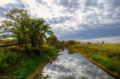 The rise of Fall (BrianHeskin) Tags: autumn fall nd onlyinnorthdakota river nature rural scenic