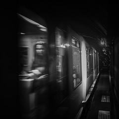 Underground story... (J2MC) Tags: marseille underground metro square quad blackandwhite blackwhite noiretblanc quadratum j2mc olympus