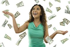 Its raining money (Amy Robberts 777) Tags: woman currency dollar bill female black african american abundance success cash achievement prosperity student flying money midair business wealth opportunity catching concept reaching making hispanic cuban latina perks surprise luck braces falling loan grant finance investment savings debt teen happiness standing beautiful attractive white background ideas open arms sky heaven juarez chihuahua mexico mx
