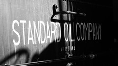 Standard Oil of Indiana - Saddle Tanker from Casper (Laurence's Pictures) Tags: train steam narrow gauge railroad railway colorado museum engine locomotive transportation golden tourism tourist standard oil indiana amoco casper refinery