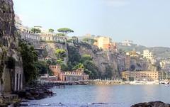 Morning, Sorrento, Campania, Italy (robin denton) Tags: sorrento italia italy town coast coastline almalficoast seascape seaside photomatix hdr