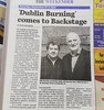 #Trad legends #BrendanBegley & #MikeHanrahan of #StocktonsWing on #stage this sat. #irishmusic #1916 #music #gig what son #longford #ireland backstage.ie