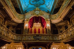 2016 - Baltic Cruise - St. Petersburg - Yusupov Palace Theatre (Ted's photos - For Me & You) Tags: 2016 cropped tedmcgrath tedsphotos vignetting yusupovpalace yusupovpalacetheatre stpetersburg russia ussr theatre