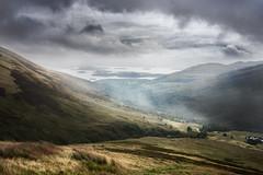 Glen Luss (Neillwphoto) Tags: glenluss valley lochlomond hills fog mist clouds luss glenstriddle