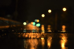 nighttime (joy.jordan) Tags: street night rain reflection bokeh blur abstract 52by52