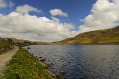 Loch Lee (east) (Keith (foggybummer)) Tags: glenesk hills lee loch shoreline landscape track